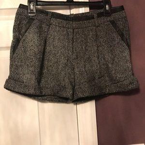 Bebe tweed dress shorts
